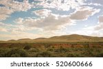 Outback Landscape In The...