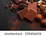 variety of sweet homemade...   Shutterstock . vector #520606426