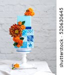 Amazing Wedding Cake With...
