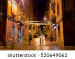 Empty Narrow Street Of Barri...