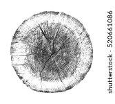 vector wood texture of wavy... | Shutterstock .eps vector #520661086