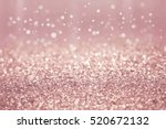 rose gold and silver abstract... | Shutterstock . vector #520672132