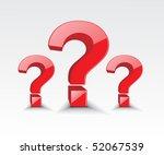 Vector Symbol Of Question Mark...