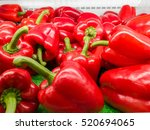 Red Sweet Peppers On The...