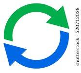 circular arrow  circle arrow... | Shutterstock .eps vector #520712038