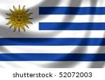 flag of uruguay | Shutterstock . vector #52072003