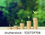 business finance and money... | Shutterstock . vector #520729708