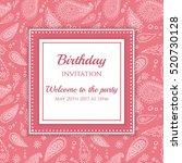 Invitation Or Card Template....