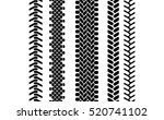 black and white tire tread... | Shutterstock .eps vector #520741102