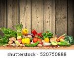 organic vegetables | Shutterstock . vector #520750888
