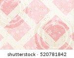 japanese paper cherry greeting... | Shutterstock .eps vector #520781842