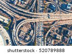 aerial view of a massive... | Shutterstock . vector #520789888
