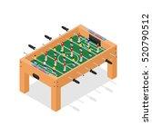 table football game hobby or... | Shutterstock .eps vector #520790512