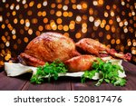 Roasted Turkey. Thanksgiving...