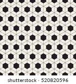 vector seamless pattern. modern ...   Shutterstock .eps vector #520820596