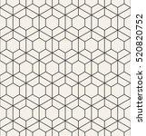 vector seamless pattern. modern ...   Shutterstock .eps vector #520820752