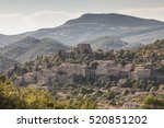 montbrun les bains in the drome ... | Shutterstock . vector #520851202