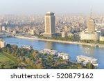 cairo skyline   egypt | Shutterstock . vector #520879162