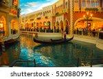 Las Vegas, USA - May 06, 2016: The Venetian Resort Hotel and Casino - stock photo
