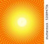sunburst hot heat ray