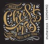Typography Merry Christmas  ...