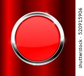 red button with metal frame on...   Shutterstock .eps vector #520915906