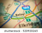 relay. maryland. usa | Shutterstock . vector #520920265