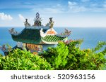 amazing view of tile roof of... | Shutterstock . vector #520963156