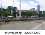 singapore  singapore   august 4 ... | Shutterstock . vector #520971292