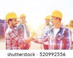 business  building  teamwork ... | Shutterstock . vector #520992556