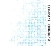 blue random dots background ... | Shutterstock .eps vector #521004556