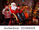Santa Claus And The Elves...