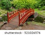 Beautiful Wooden Bridge In...