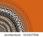 abstract fractal background.... | Shutterstock . vector #521027506