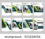 green technology cover business ... | Shutterstock .eps vector #521028556