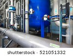 large industrial water... | Shutterstock . vector #521051332
