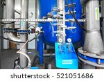 large industrial water... | Shutterstock . vector #521051686