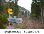 attraction view point in... | Shutterstock . vector #521060476