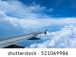 clouds and sky as seen through... | Shutterstock . vector #521069986