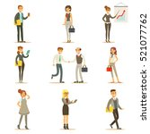 business  finance and office... | Shutterstock .eps vector #521077762
