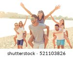 outdoors photo of happy... | Shutterstock . vector #521103826