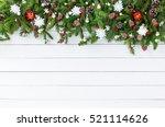 christmas background. christmas ...   Shutterstock . vector #521114626