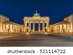 berlin's most famous landmark ... | Shutterstock . vector #521114722