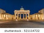 berlin's most famous landmark ... | Shutterstock . vector #521114722