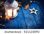 Christmas Lantern With...