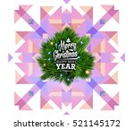 christmas design and elements... | Shutterstock .eps vector #521145172