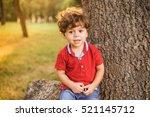 Portrait Of Cute Little Toddle...
