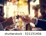 restaurant chilling out classy... | Shutterstock . vector #521151406