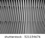 black and white aluminium... | Shutterstock . vector #521154676