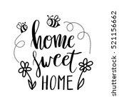 hand lettering typography... | Shutterstock .eps vector #521156662